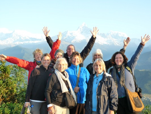 Nepal group yoga retreat